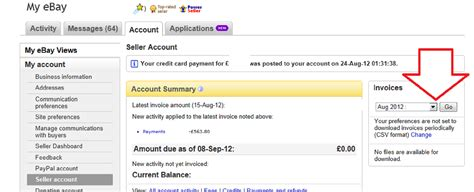 ebay purchase invoice solved how are fee invoices calculated the ebay community