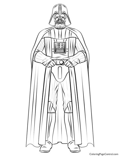darth vader coloring book pages darth vader coloring pages to print coloring home