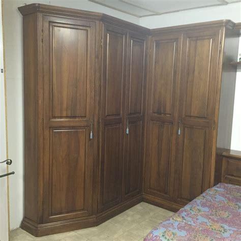 camere da letto con armadio ad angolo offerta con armadio ad angolo noce nazionale