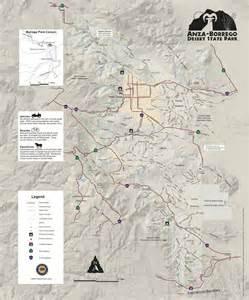 anza borrego desert state park maplets