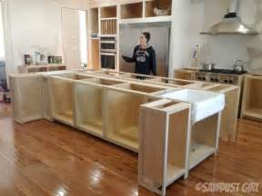 kitchen island with cabinets and seating kitchen remodel recap sawdust 174