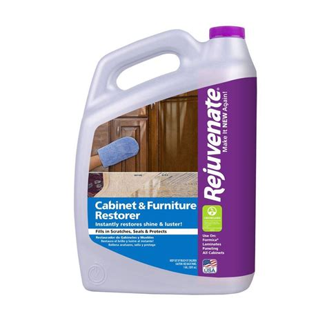 rejuvenate 128 oz cabinet and furniture restorer and