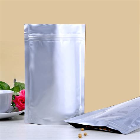 Deal Standing Pouch Paper Window White Uk 12 20 food grade bags food