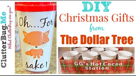 christmas gifts starting with r diy gift ideas from the dollar tree
