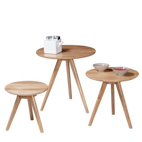 le trois pieds bois tables basses gigogne soren ch 234 ne by drawer