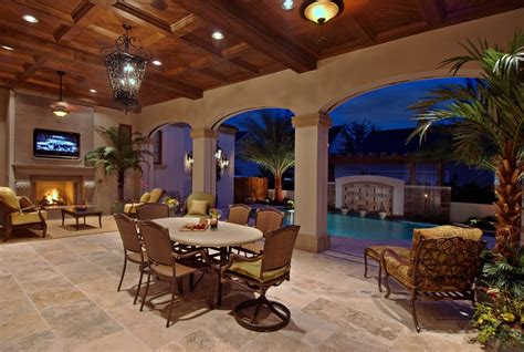 Mediterranean Style Mansions Residential Photography 31 Outdoor Living Orlando