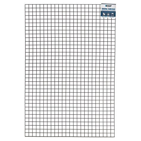 whites 600 x 900mm black wire mesh mini panel bunnings
