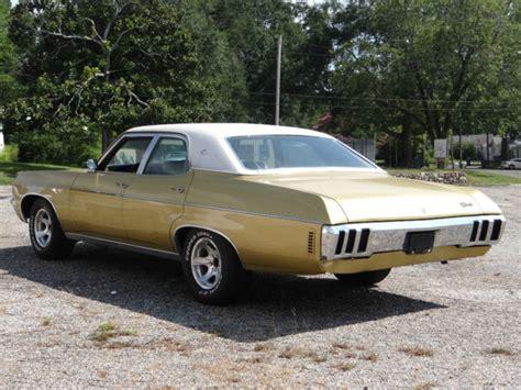 1970 chevy impala 2 door 1970 chevrolet impala gold 4 door sedan 4 door 70 v8