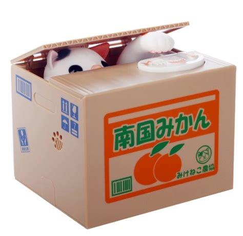 Minion Stealing Coin Bank Money Saving Box Celengan Minion compare prices on cat coin box shopping buy low price cat coin box at factory price