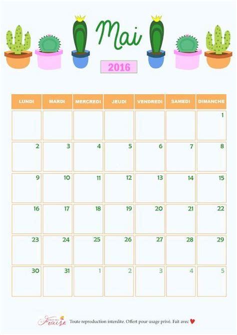 mai calendrier 2016 les 25 meilleures id 233 es concernant calendrier mai 2016 sur