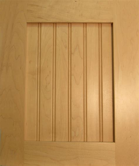 beaded panel solid beaded panel maple dhw cabinet doors