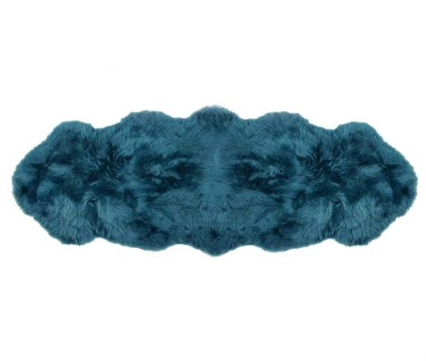 blue fur rug sheepskin rugs 2 pelt premium auskin tasman blue green ultimate sheepskin