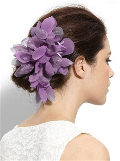 Wedding Guest Hair With Flowers by Wedding Guest Hairstyles With Fascinator Wedding Guest