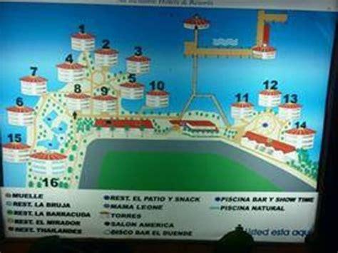 mapa hotel picture of royal decameron aquarium san andres island tripadvisor