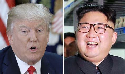 donald trump and kim jong un us ignites war of words with north korea telling japan it