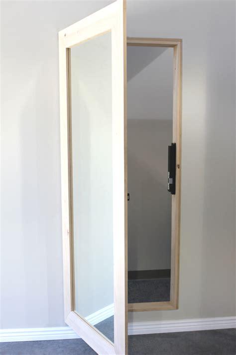 front door mirror mirror door outswing door store