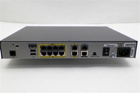 Router Cisco 1800 Series cisco 1800 series wired security router cisco1811 k9 v07 w 64mb compact flash ebay