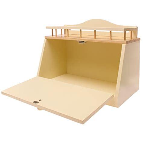 great ideas wooden bread bin wood bread box with front