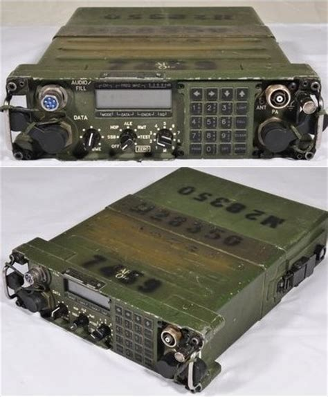 boat ham radio harris prc 138 hf manpack rt if you can afford this
