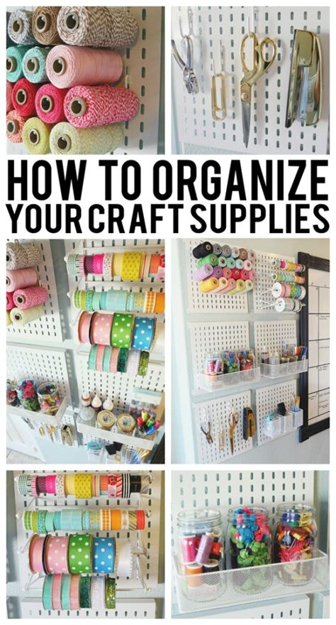 how to organize ideas 35 crafty craft storage solutions storage ideas craft