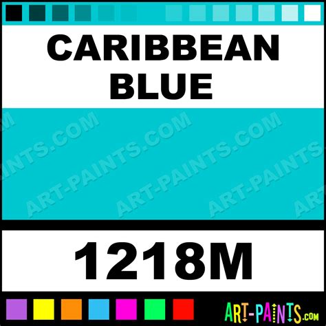 caribbean blue color caribbean blue fabric spray paints 1218m caribbean