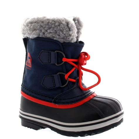 snow boots for uk unisex youth sorel yoot pac winter snow