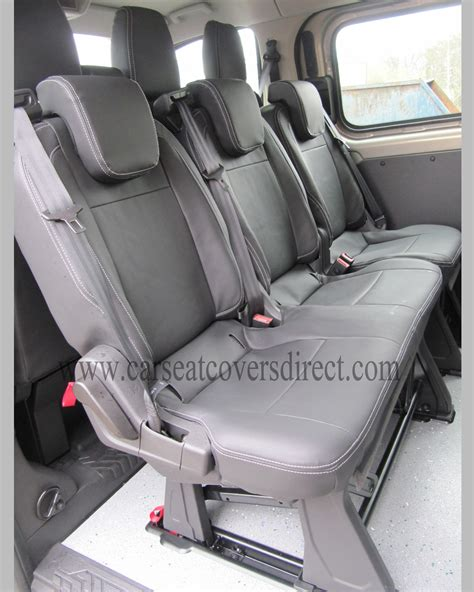 custom ford seat covers ford transit custom tourneo tailored foam backed seat