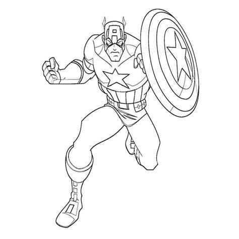 imagenes para colorear niños heroes captain america 12 superh roes p ginas para