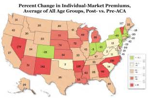 map insurance 49 state analysis obamacare to increase individual market