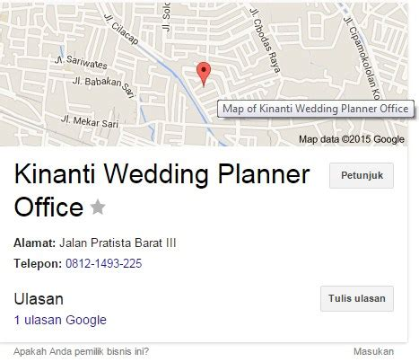 Wedding Organizer Bandung Review by Review Wedding Organizer Kinanti Wedding Planner