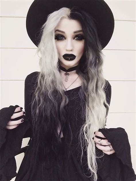 halloween punk hairstyles 15 halloween witch make up ideas styles for girls 2015