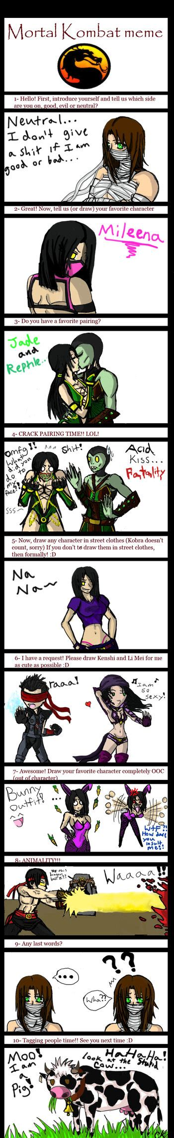 mortal kombat meme by sikura12 on deviantart
