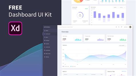 Free Dashboard Template Xd 183 Pinspiry Free Xd Templates