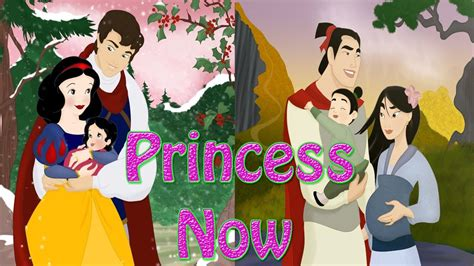 The Princess Where Are They Now by Disney Princess Now And Then Fanart