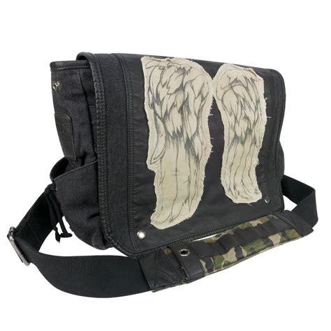 walking bag the walking dead daryl dixon wings messenger bag