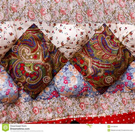 Patchwork Textiles - patchwork fabric quilt royalty free stock images image