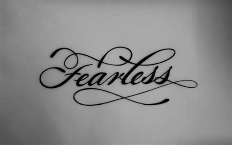 fearless tattoo tattoos pinterest ribs fonts and