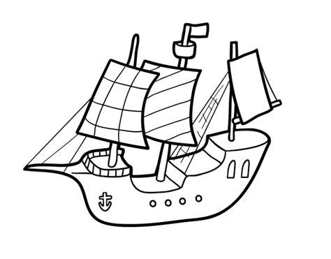 imagenes para colorear barco dibujo de barco de juguete para colorear dibujos net