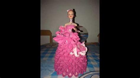 1000 images about mu 241 como hacer vestidos de munecas en papel crepe mu 209 ecas