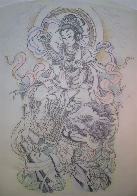 holy tattoo designs holy awesomeness geisha fu back