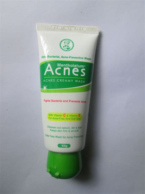 Acnes Facewash mentholatum acnes wash review mabh