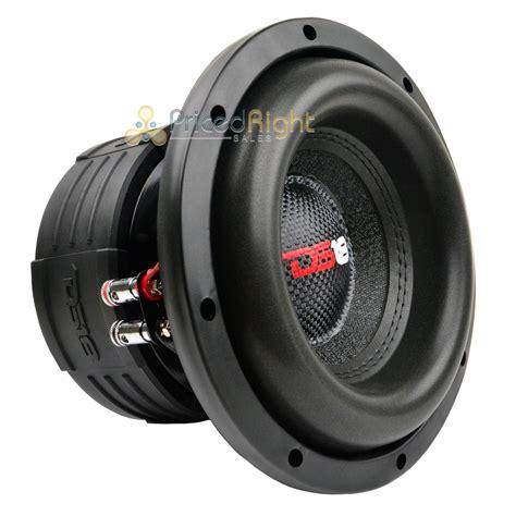 Speaker Subwoofer 8 ds18 elite z8 8 quot subwoofer dual 4 ohm 900 watts max bass