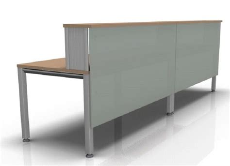 vital reception desk composition 4 frosted glass