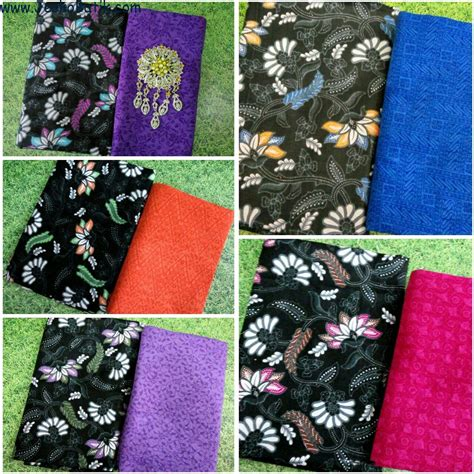 Kain Batik Prada Pekalongan Motif Songket Set Embos Warna Biru paket kain batik dan kain embos ka12 batik pekalongan by jesko batik