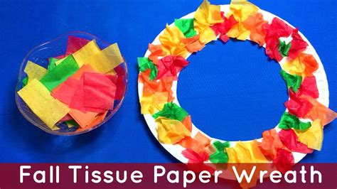 Tissue Paper Arts And Crafts - arts and crafts for fall preschoolers find craft ideas