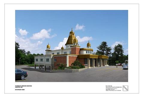maruti temple andover ma meet the architect of the new chinmaya maruti