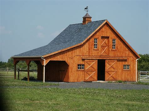 Barn Plans | free barn plans professional blueprints for horse barns