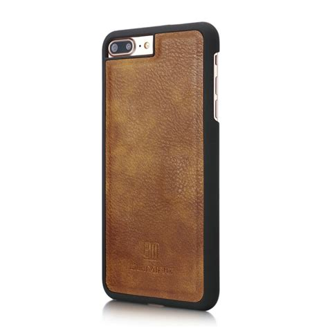 Original Leather Iphone 7plus genuine leather removable wallet magnetic card cover for iphone 6s 7 7 plus ebay
