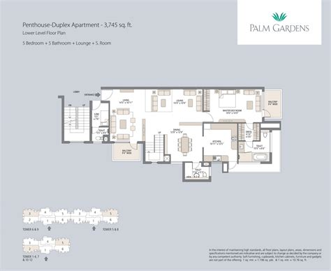 Estella Gardens Floor Plan by Emaar Mgf Palm Garden Resale Apartment In Gurgaon Sector 83