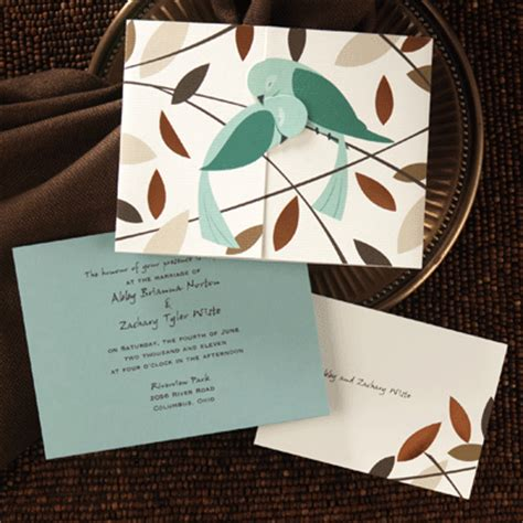 wedding invitations with birds occasions to birds wedding invitations from